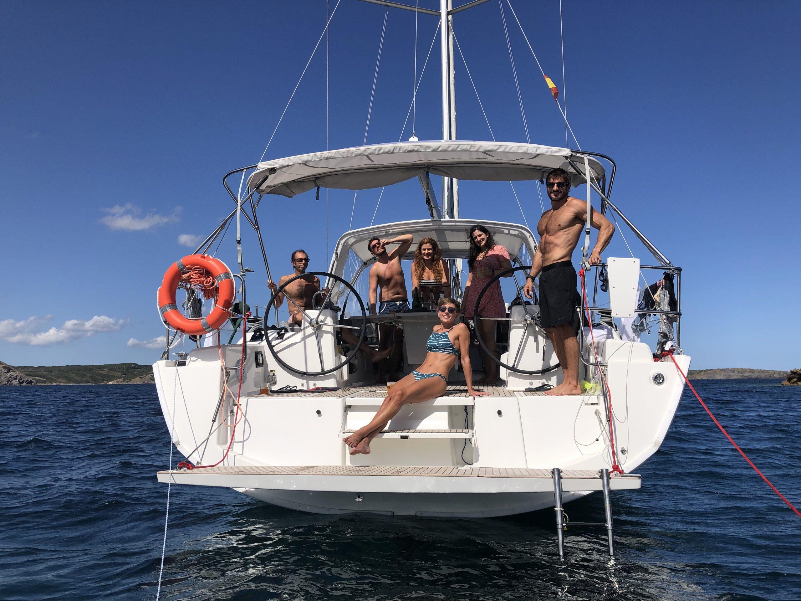 Sailing boat bow
